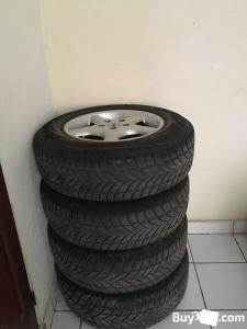 Used Tires with rims for sale