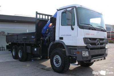 MERCEDES ACTROS 6X6  3340 NEW EURO2