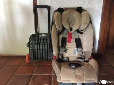 Car Seat with airport wagon for sale